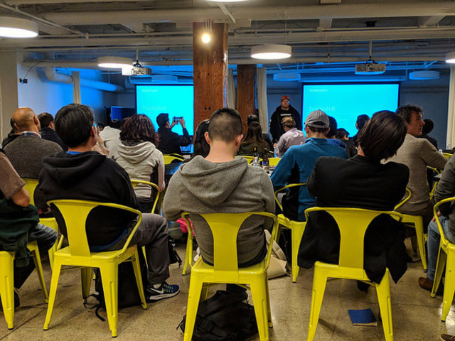 På Hyperledger Meetup i San Francisco