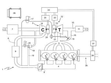 Ferrari har tagit patent på fyrcylindrig motor