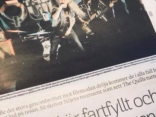 The Quill - Live på Sangria i Oskarshamn
