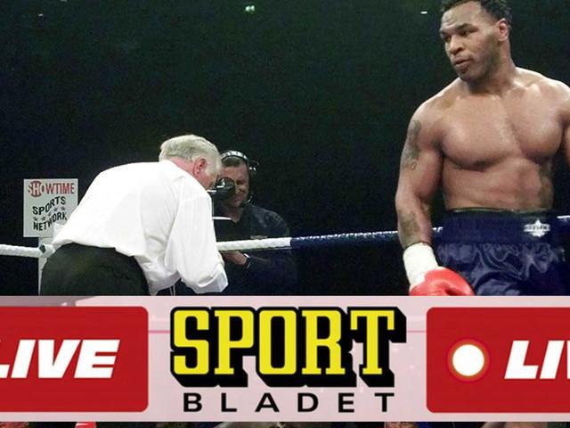 LIVE: Följ uppsnacket inför Tysons comeback