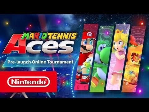 Nintendo släpper demo av Mario Tennis Aces till Switch
