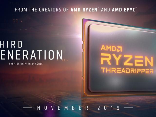 AMD avtäcker Ryzen Threadripper3970X och 3960X – kräver nytt moderkort