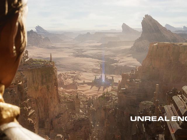 Unreal Engine5 använder raytracing och Mesh Shaders på Playstation5
