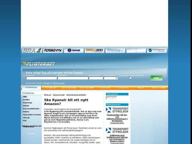 Ska Ryanair bli ett nytt Amazon?