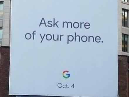 Google verkar hålla låda 4 oktober