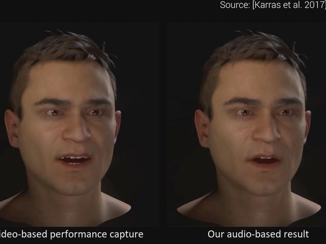 Nvidias AI skapar naturtrogna ansiktsanimationer utifrån tal