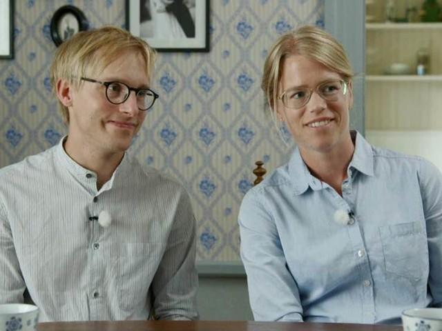 SVT-profil på besök i uppländska hus