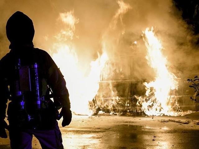 Flera bilbränder i Göteborg