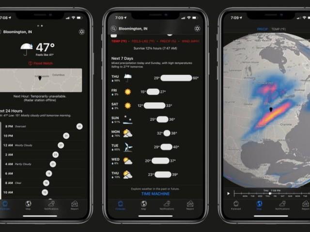 Apple skjuter upp nedsläckningen av populär väder-app