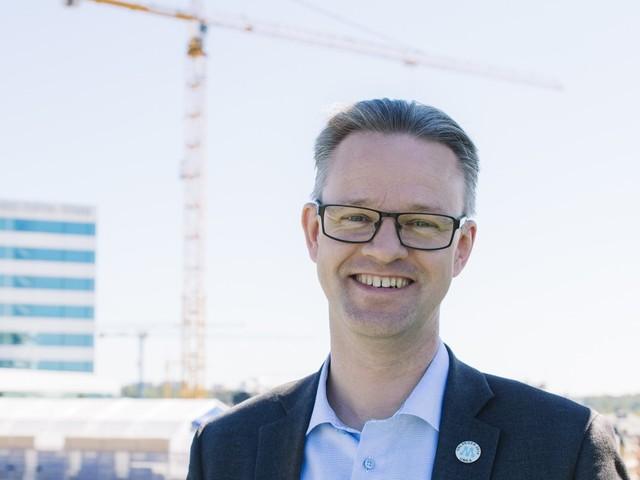 Partisekreteraren Gunnar Strömmer besökte SKL