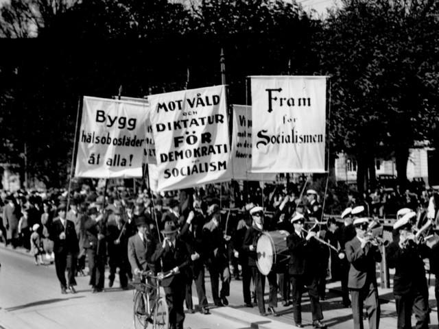 Första maj i Malmö - år för år sedan 1890