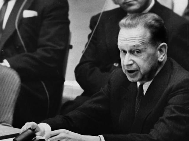 Hammarskjölds död på bio i mars
