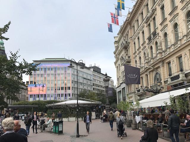 Stockholmarna emot rivning vid Stureplan