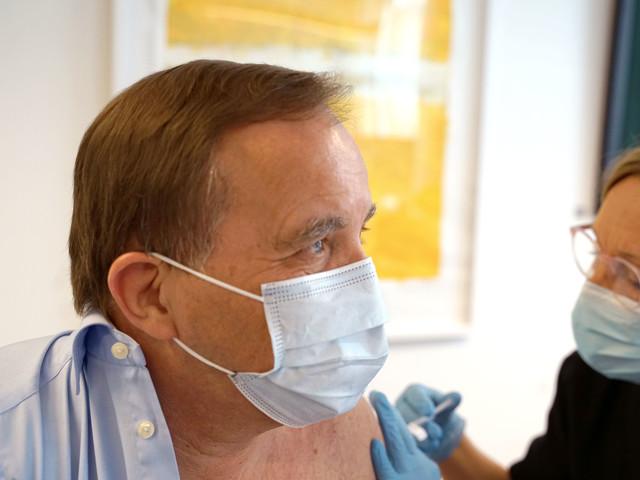 Stefan Löfven har fått sin andra spruta