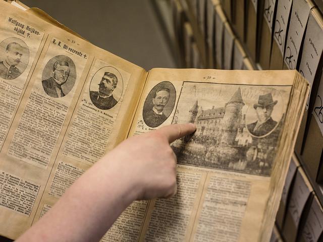 Digitala arkiv väcker släkten till liv
