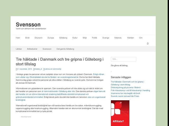 Tre häktade i Danmark och tre gripna i Göteborg i stort tillslag