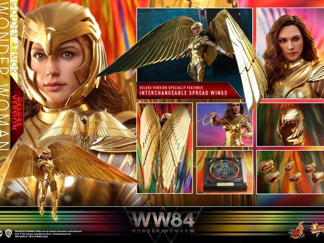 Hot Toys släpper urläcker figur från Wonder Woman 1984