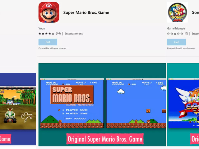 Edge-tillägg huserar illegala kopior av spel