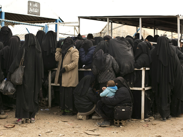 Svensk IS-kvinna i skräckfängelset Rusafa i Bagdad