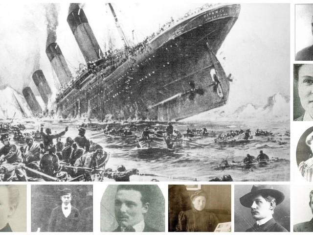 Skåningarna som reste med Titanic
