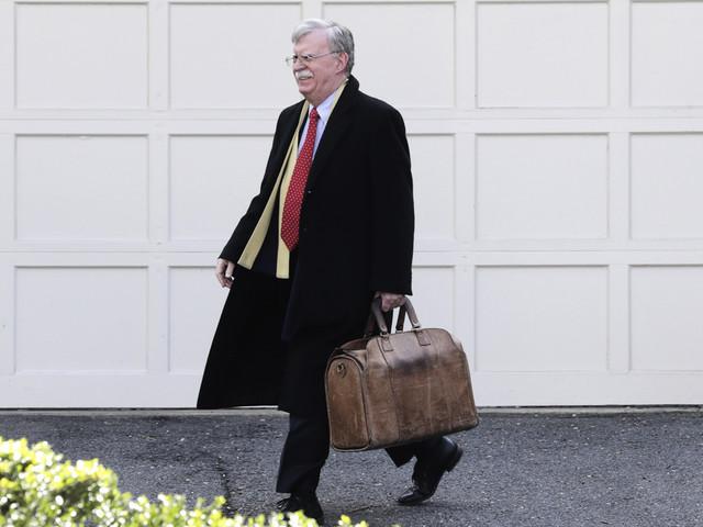 Vita huset vill förbjuda Boltons bok