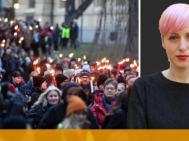 Cissi Wallin: Ja, vi är offer – och vi kräver att bli lyssnade på
