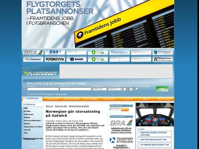 Norwegian gör storsatsning på Gatwick