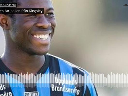 """Hyllningslåten till MFF:s nyförvärv: """"Ingen tar bollen från Kingsley"""""""