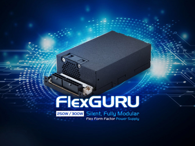 FSP avtäcker ultrakompakta nätaggregat i Flexguru-familjen
