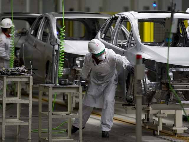 Stor coronaeffekt på Japans ekonomi