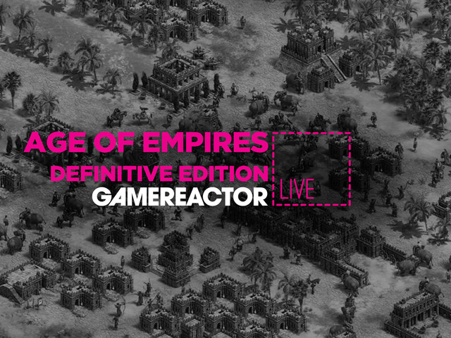 Gamereactor Live: Age of Empires: Definitive Edition