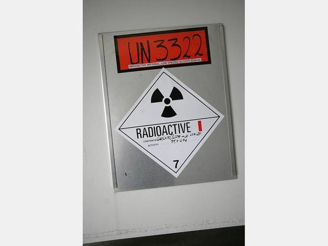 Radioaktivt avfall riskerar att läcka ut