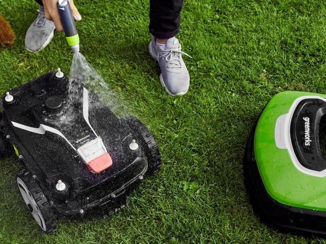 Optimow – spolsäker robotgräsklippare med GPS och frostsensor