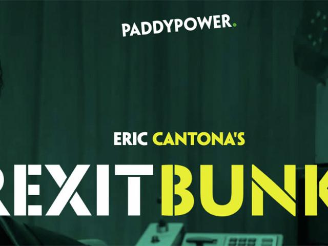 Eric Cantona driver med Brexit i reklamkampanj för Paddy Power