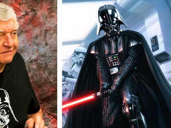 Star Wars-ikonen Darth Vader död
