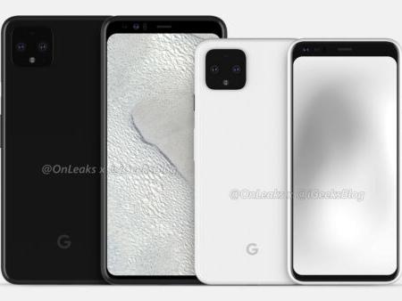 Rykte: Google Pixel 4 har samma design som sitt större syskon