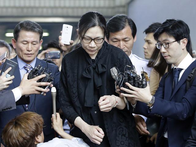 Sydkoreansk flygdotter anklagas för misshandel