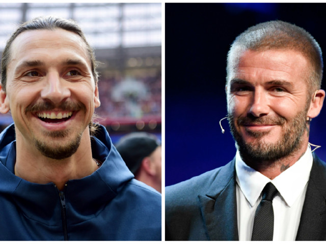 """Beckhams passning till Zlatan: """"Du är lite för blyg"""""""