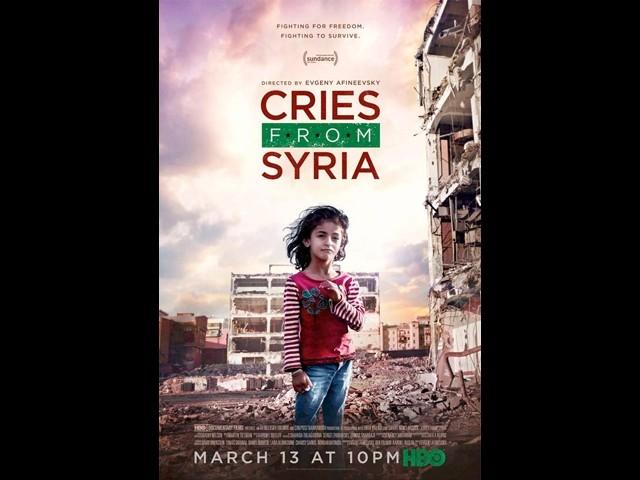 """Terroristpropagandafilmen """"Cries from Syria"""" föreslås få fint filmpris"""