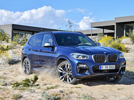 BMW presenterar nya X3