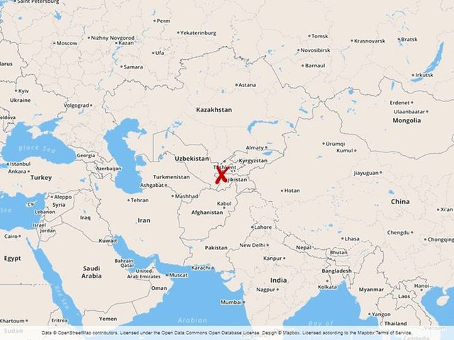 Fyra dödade i centralasiatisk gränsstrid