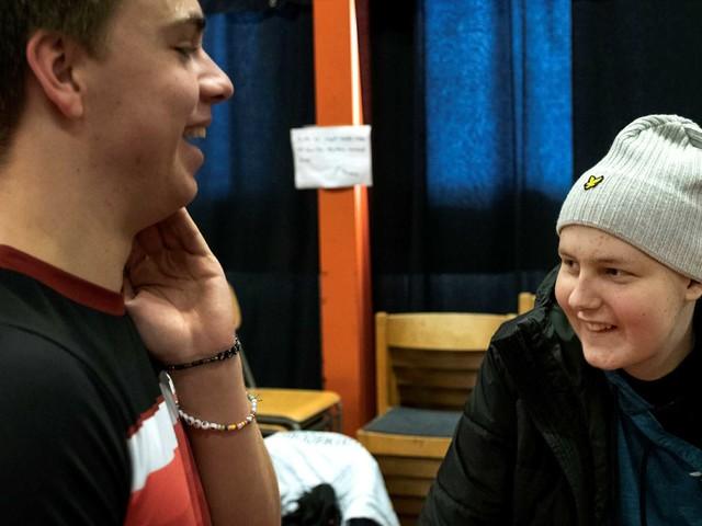 Supertalangens svåraste match – den mot kompisens cancer