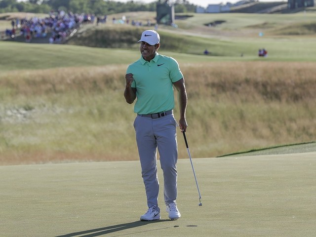 Koepka segrade i US Open