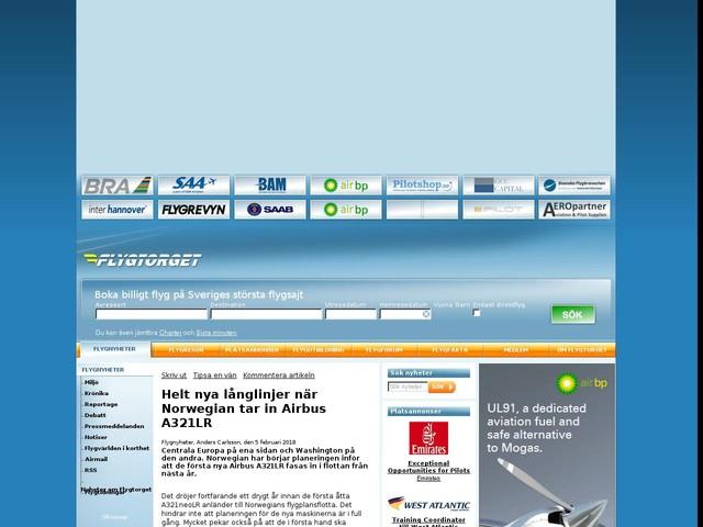 Helt nya långlinjer när Norwegian tar in Airbus A321LR
