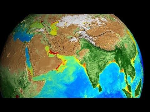 Se hur jorden förändras under årets cykler