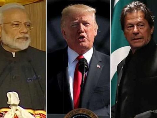 "Trump Talks Mediation On Kashmir Again, Calls It ""Very Complicated Place"""