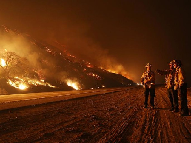 Los Angeles Often Burns in the Movies. Now It's Burning in Real Life.