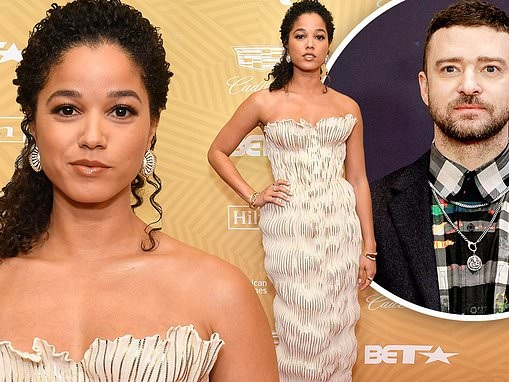 Alisha Wainwright stuns at American Black Film Festival Honors in LA after Justin Timberlake scandal