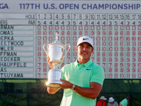 Brooks Koepka wins 117th US Open Championship