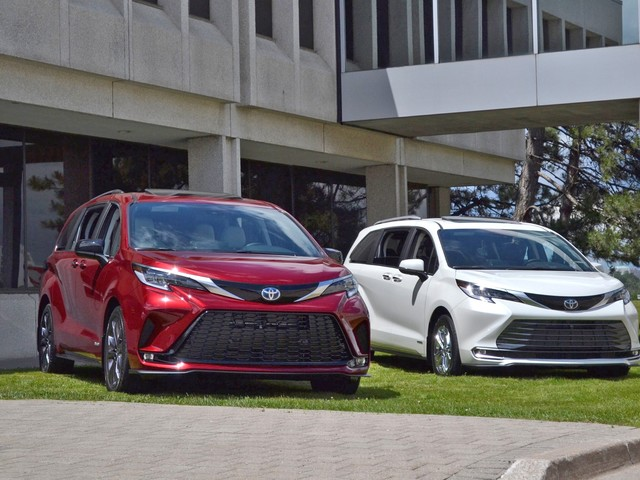 2021 Toyota Sienna Preview: On Hand with the New Hybrid Minivan